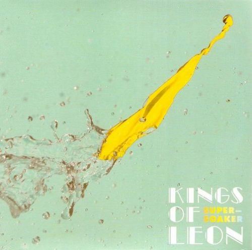 KINGS OF LEON Supersoaker Vinyl Record 7 Inch RCA 2014 White Vinyl